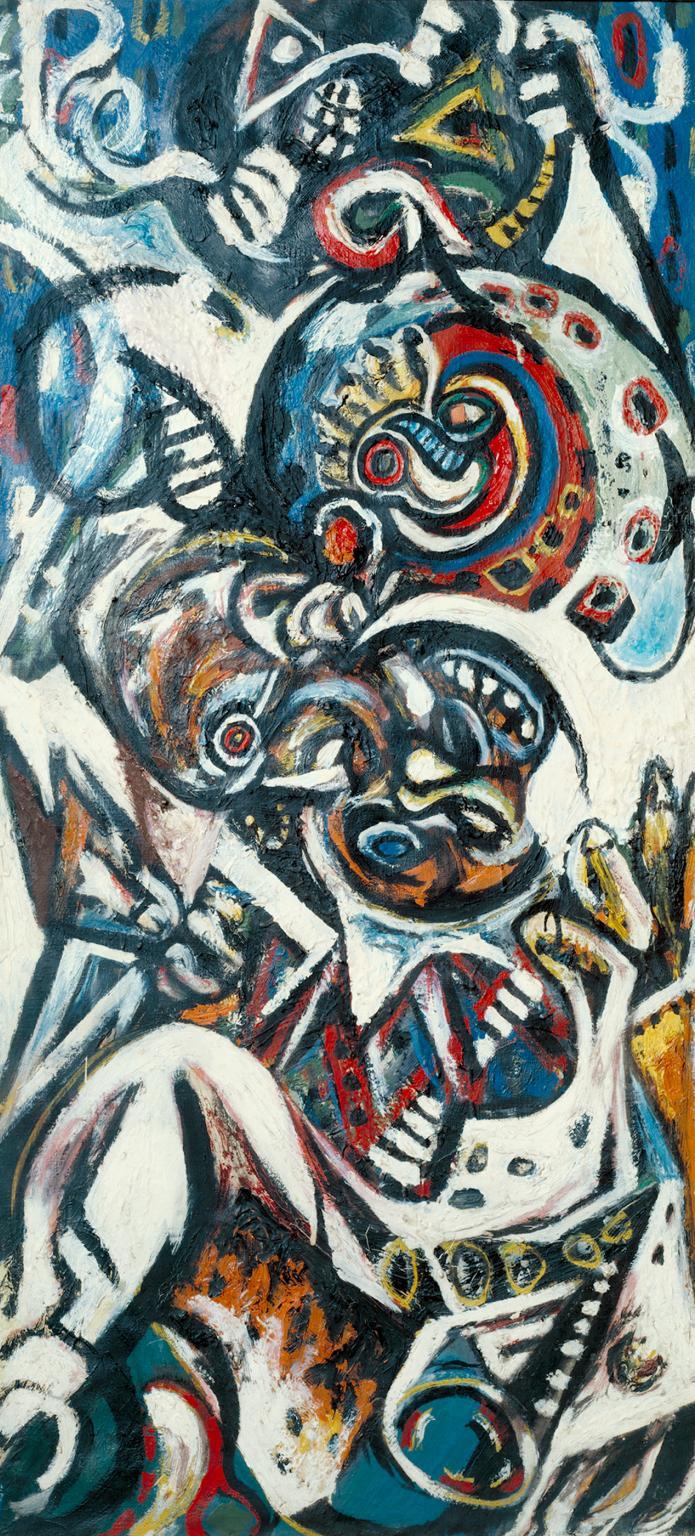 Birth c.1941 by Jackson Pollock 1912-1956