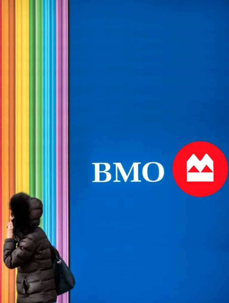 digital bmo logo design for online banking