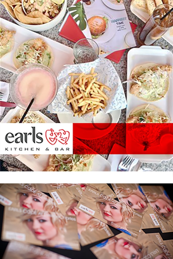 Earls market research and ads