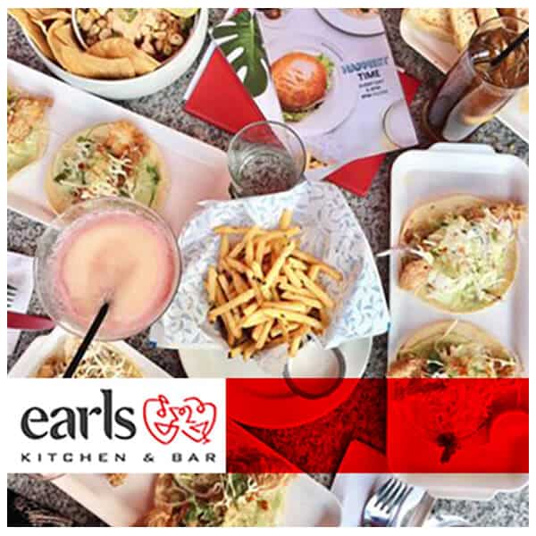 Earls campaign creative