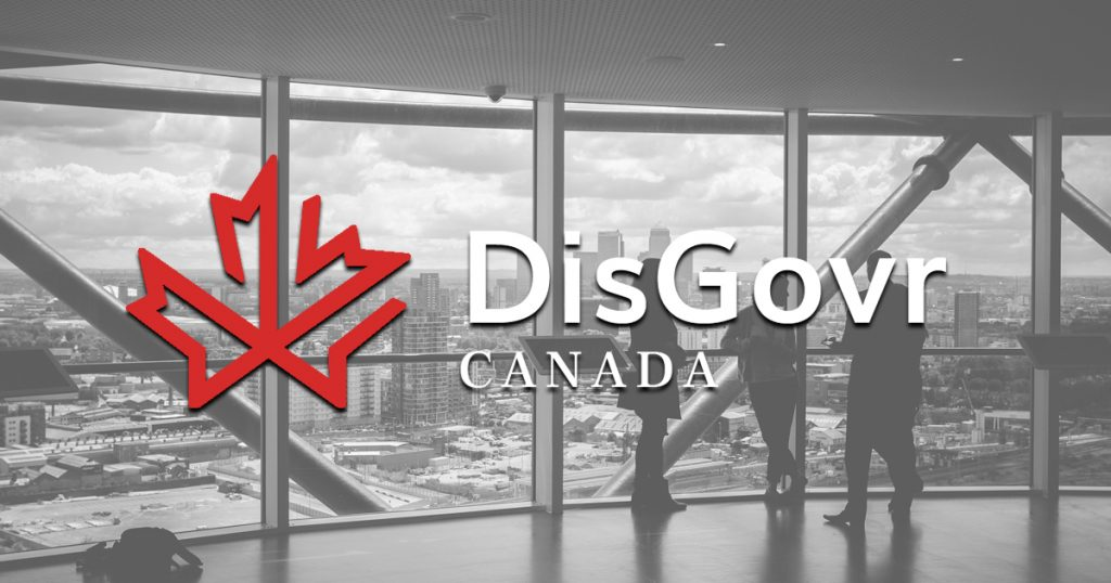 DisGovr Canada - Government Support and Relations