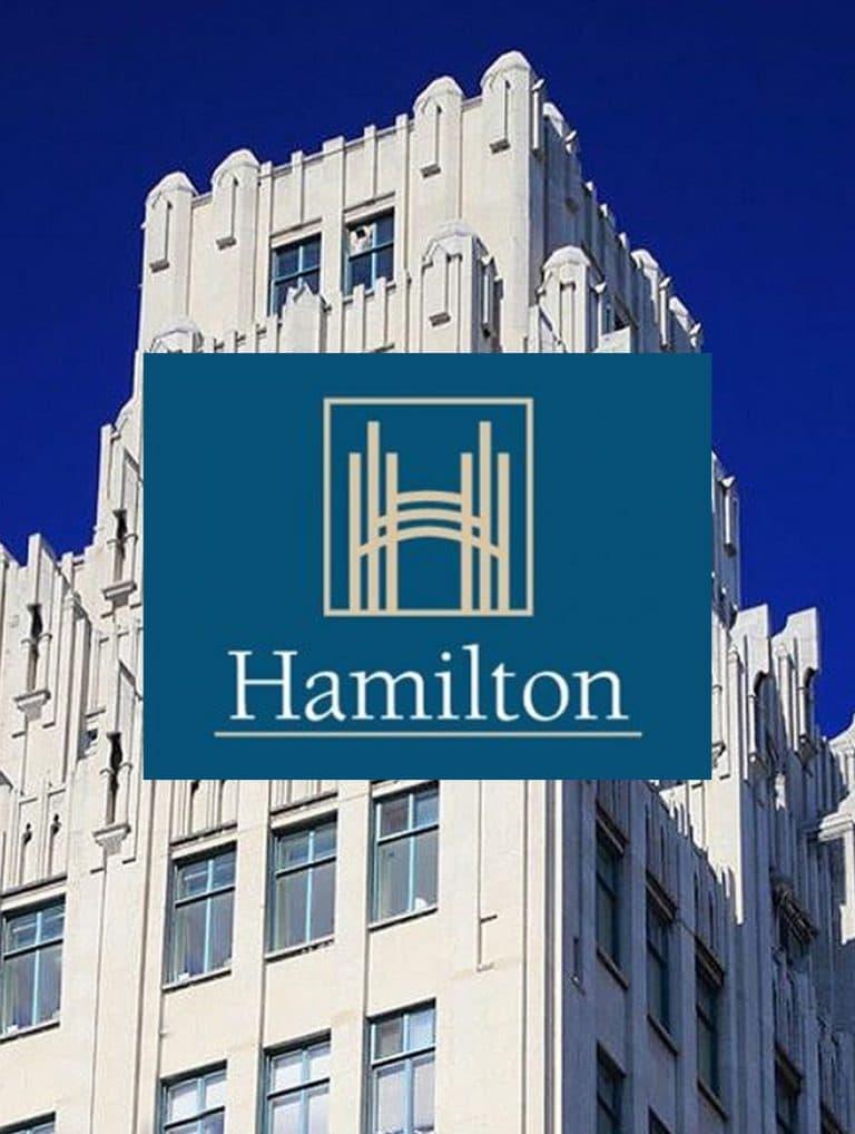 city of Hamilton banner