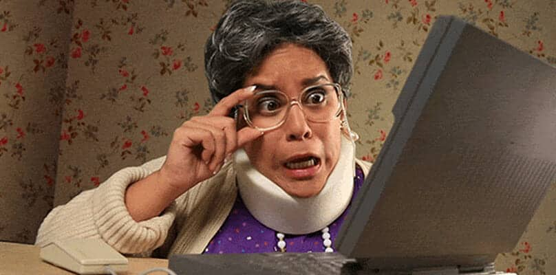Grandma facebook facetime management
