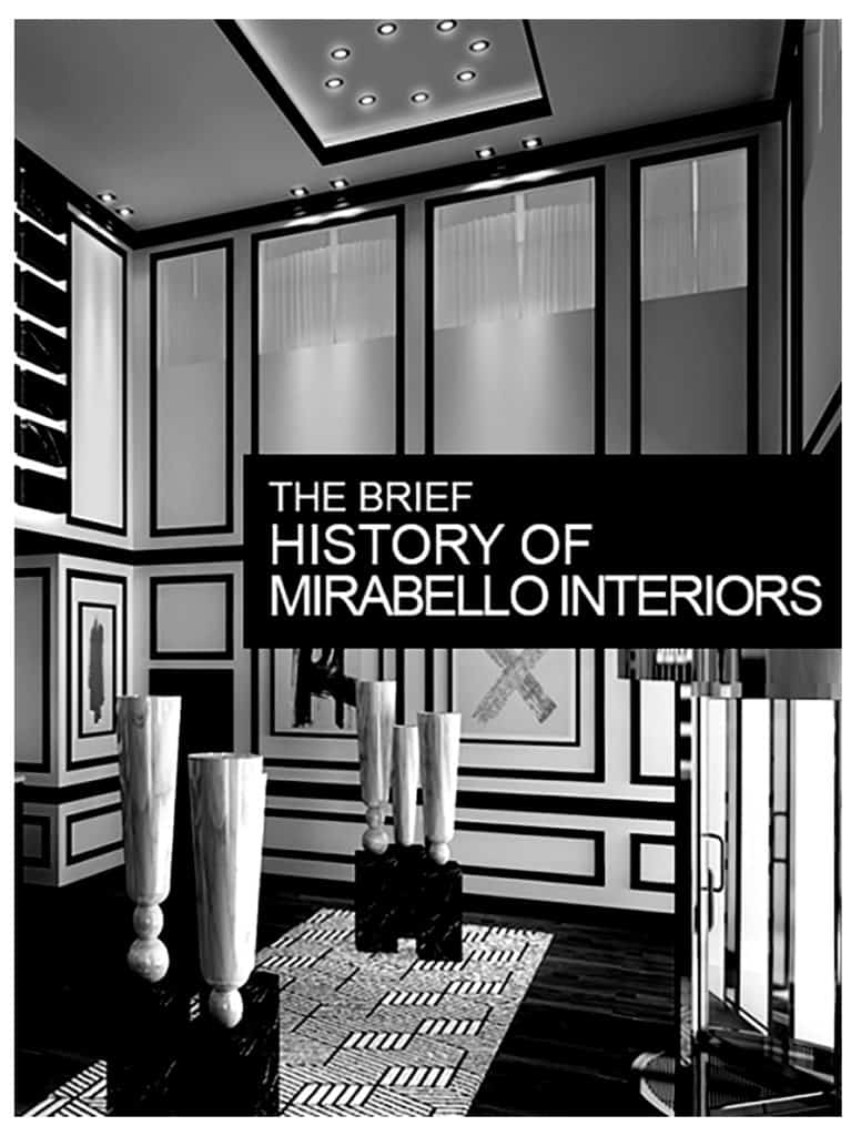 history of mirabello interiors cover