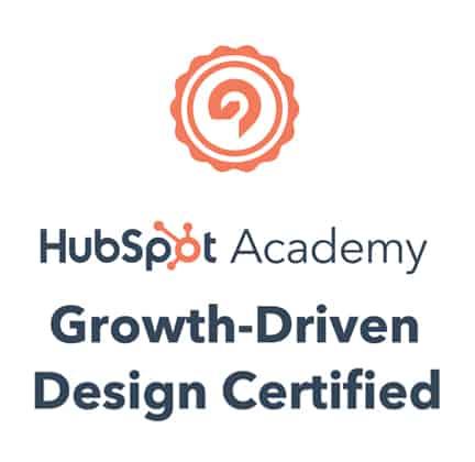 growth-driven-design hubspot certification