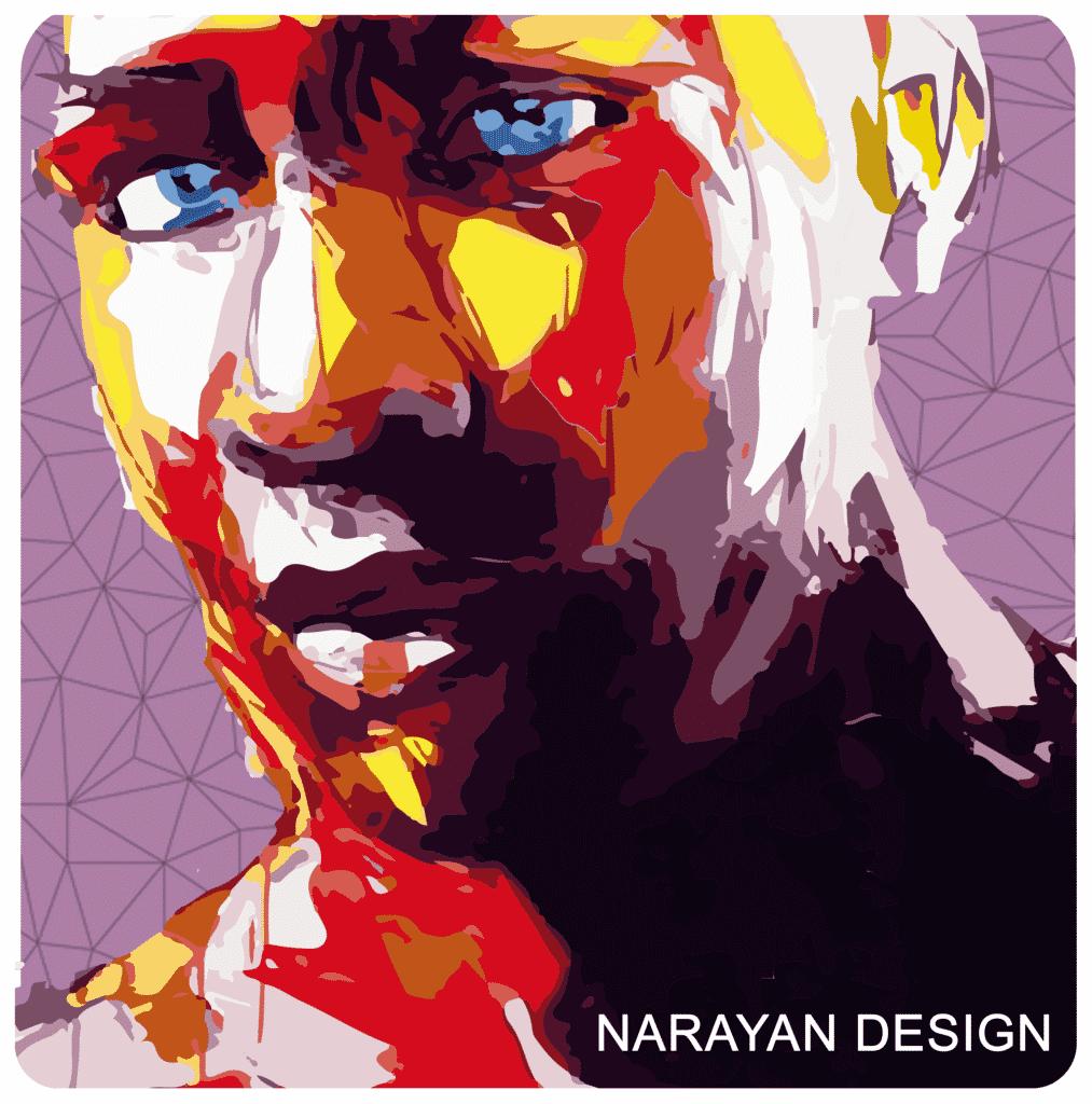 Narayan icon design