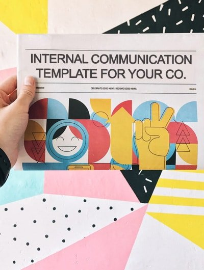 internal communication template drafts
