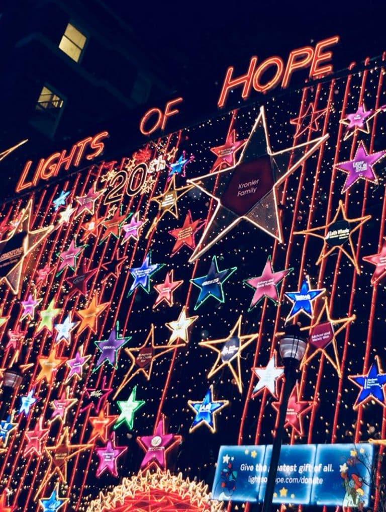 St Paul's Hospital strategic plan lights of hope campaign