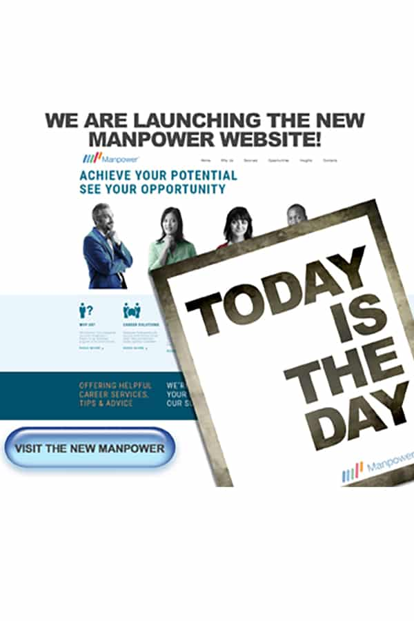 accessible website launch for manpower alberta