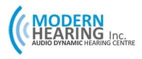 Brand logo modern hearing