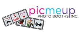 Brand logo pic me up photo booths