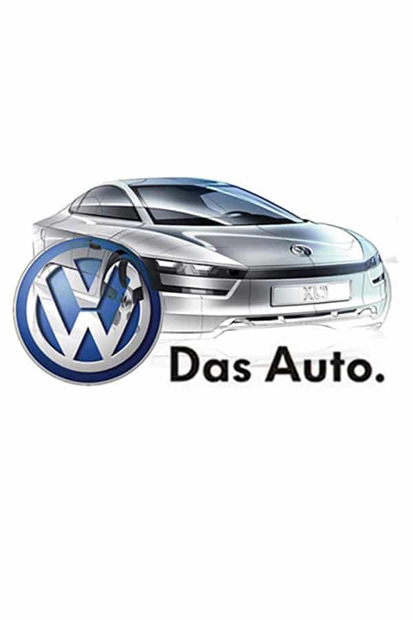 Volkswagen VW futuristic car design Das Auto