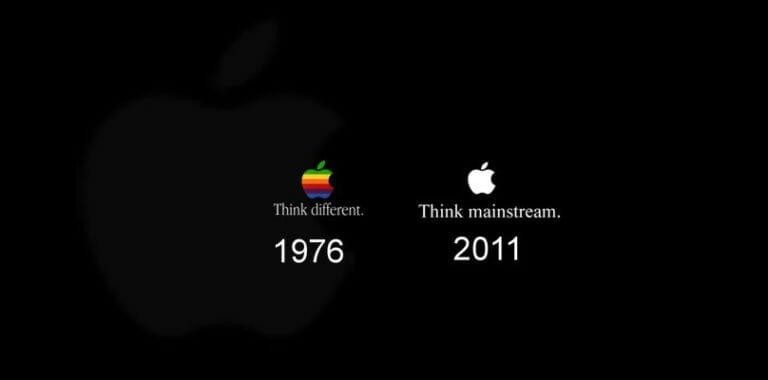 Apple think different cover image