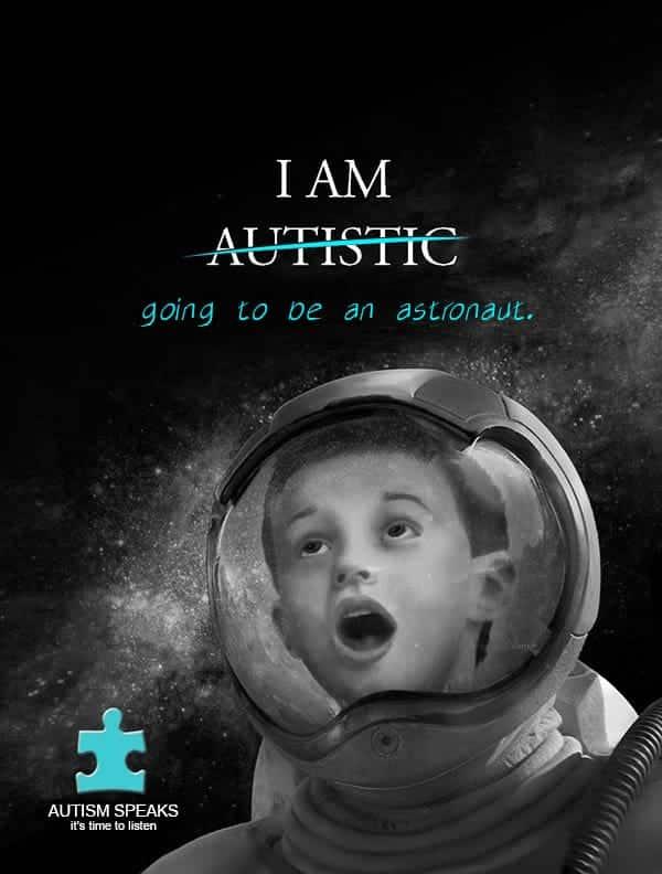 Autism Speaks promo poster