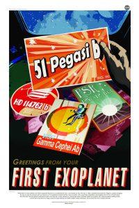 Nasa Poster - 51 Pegasi B