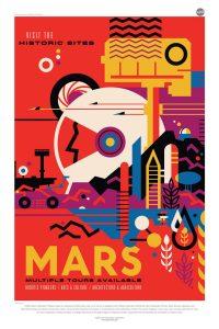 Mars Exploration NASA poster