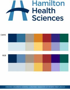 Hamilton health services logo design for brand identity strategy
