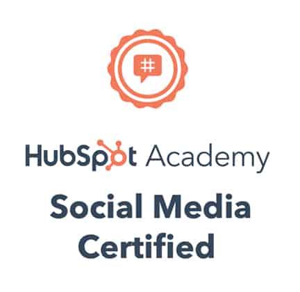 social media certification badge