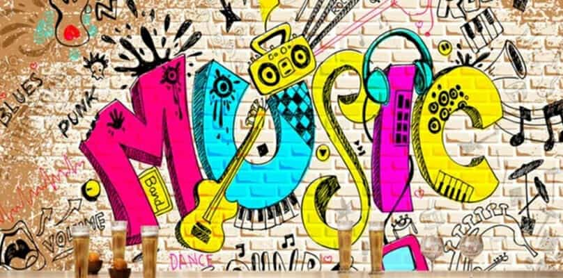 music graffiti art