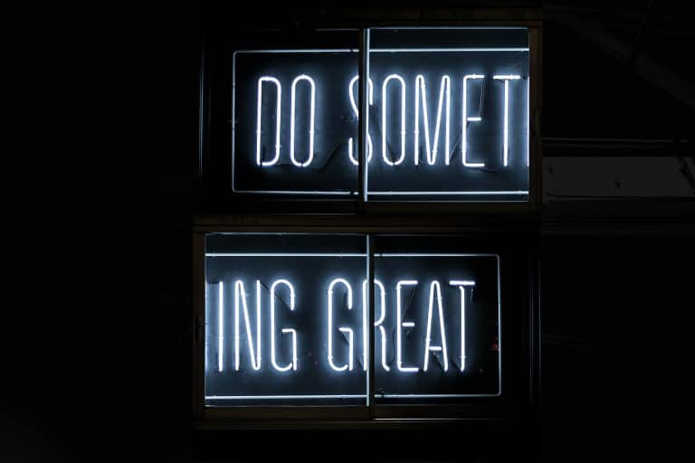 do something great design thinking motto